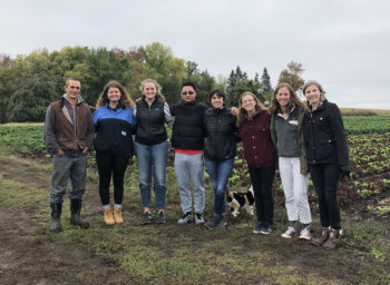 St. Olaf Students Meet Open Hands Farmer