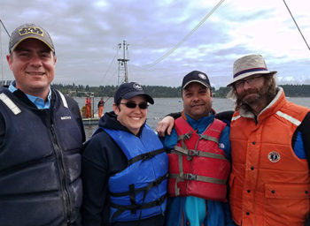 Fred Hutch Nets a Wild Experience With Lummi Island Wild