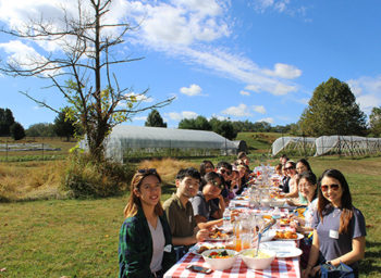 Johns Hopkins University and St. Timothy's School Cohost Farm Tour and Picnic