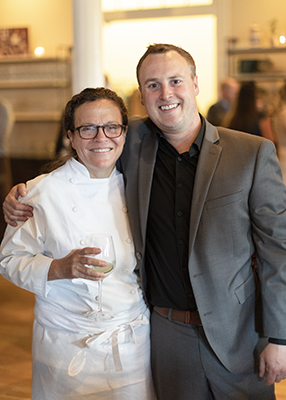 Traci Des Jardins and Commissary General Manager Charlie Cross