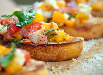 Let's Cook: Ginger Peach Salsa and Turmeric Vinaigrette to the (Immunity) Rescue!