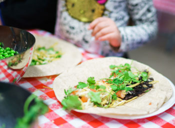 Let's Cook with Healthy Kids: Garden Tacos (Plus Knife Safety Tips)