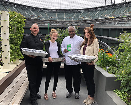 Oracle Park Team Hits a Home Run for Food Recovery